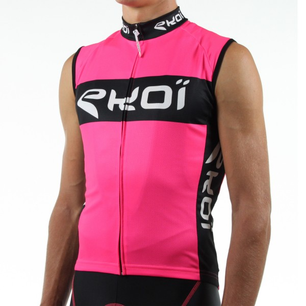 MAILLOT SANS MANCHES COMPETITION2 FLUO ROSE