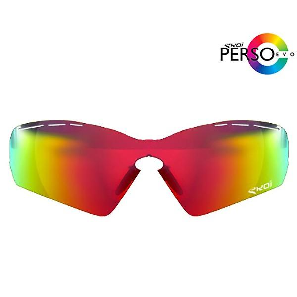 Revo-Sonnengläser in Rot Ekoi PersoEvo