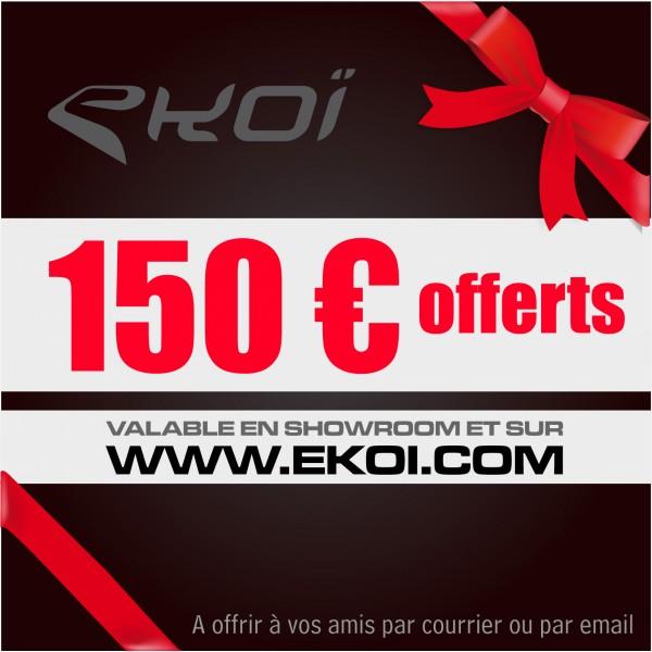 CHEQUE CADEAU 150 euros