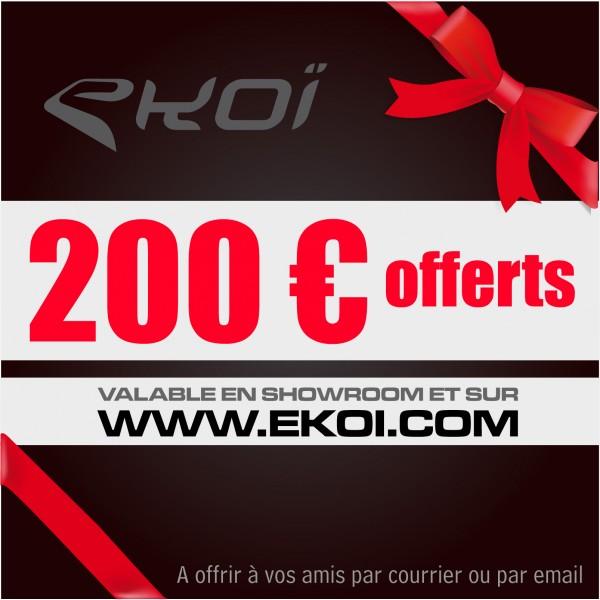 GESCHENKCHÈQUE 200 euro