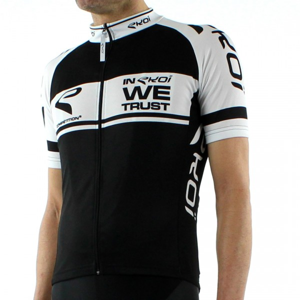 JERSEY EKOI COMPETITION5 BLACK/WHITE
