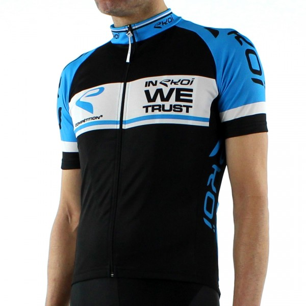 JERSEY EKOI COMPETITION5 BLACK/BLUE