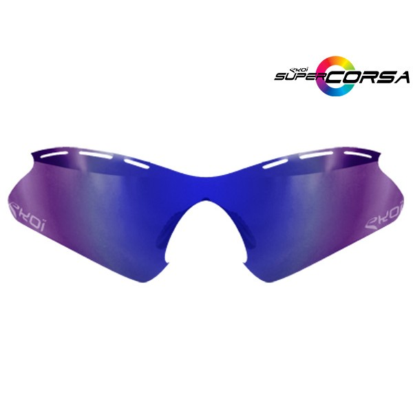 Verre solaire revo bleu EKOI SUPER CORSA