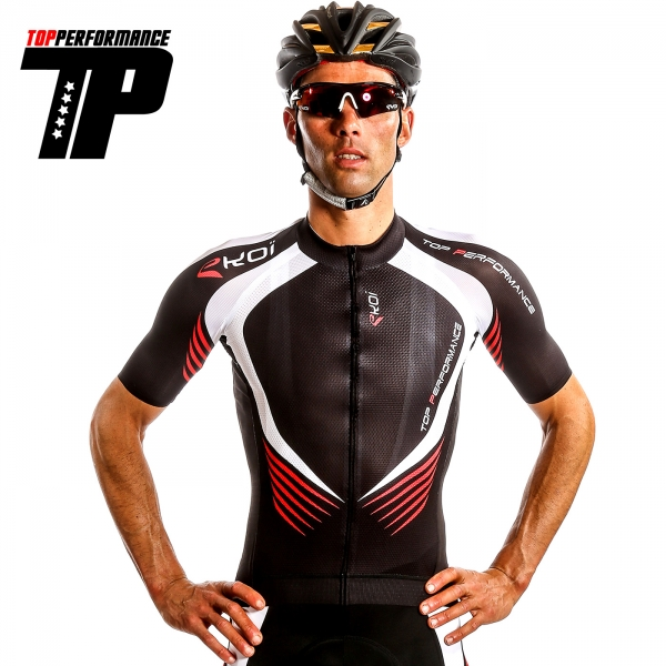 MAILLOT EKOI TOP PERFORMANCE 2015 ROUGE