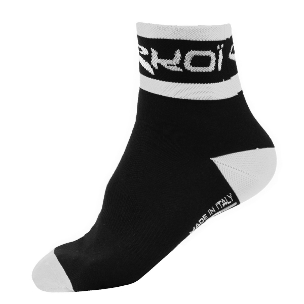 SOCKS EKOI COOLMAX 2015 - BLACK/WHITE