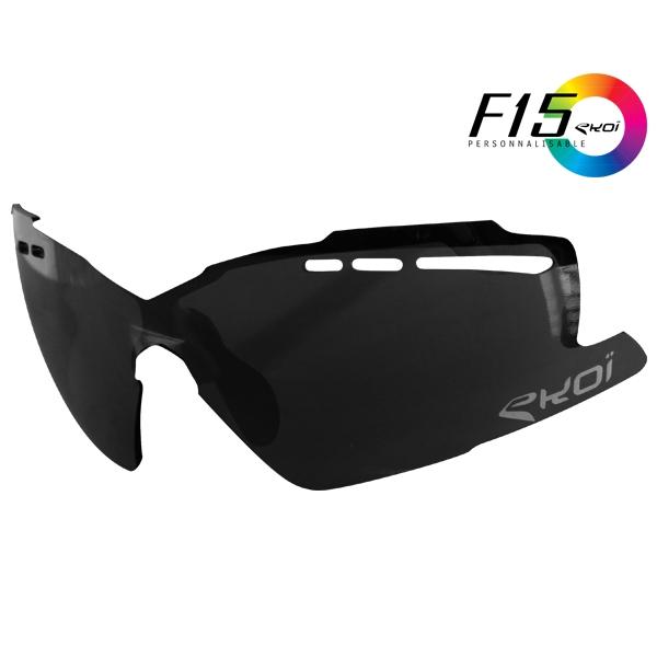 solbrillelinser F15 SORT SPEJL