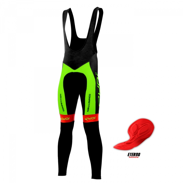 COLLANT EKOI COMPETITION7 ETERNO MAN FLUO VERT