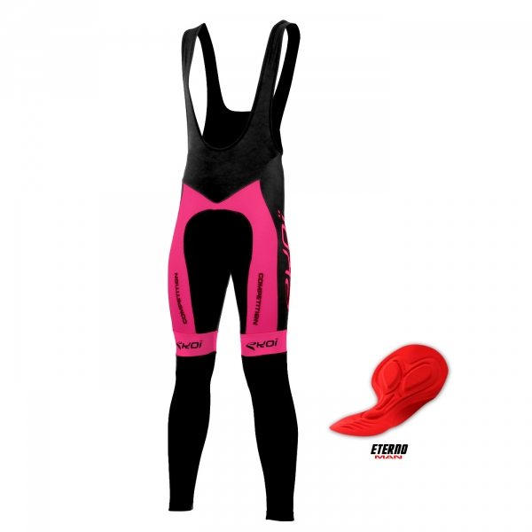 BIB TIGHTS EKOI COMPETITION7 ETERNO MAN NEON PINK