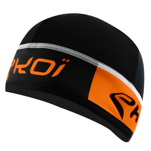 BONNET EKOI COMPETITION7 NOIR FLUO ORANGE