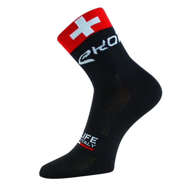 SOCKS EKOI SKINLIFE 2015 BLACK SWITZERLAND