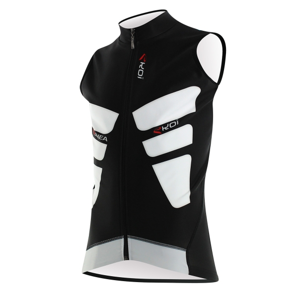 WINTER VEST EKOI PERFOLINEA WHITE/BLACK