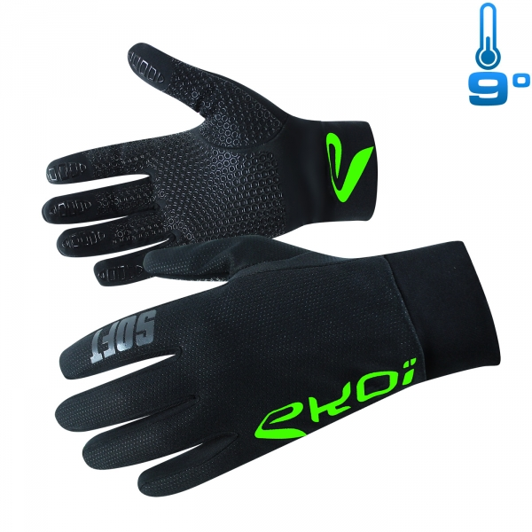 GLOVES EKOI SOFT COMPETITION7 NEON GREEN