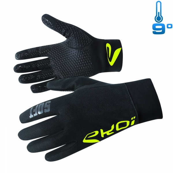 GLOVES EKOI SOFT COMPETITION7 NEON YELLOW
