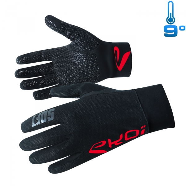 GANTS EKOI SOFT COMPETITION7 ROUGE