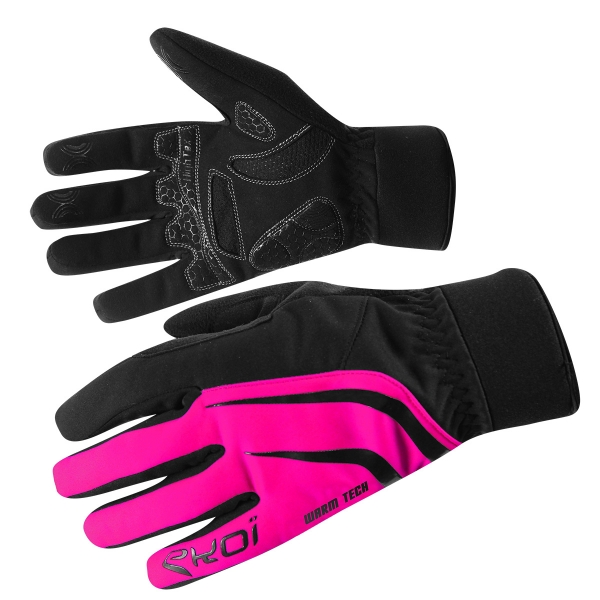 GANTS EKOI WARMTECH COMPETITION7 FLUO ROSE