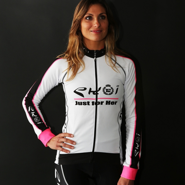 MAILLOT LONG EKOI LADY JUST FOR HER BLANC