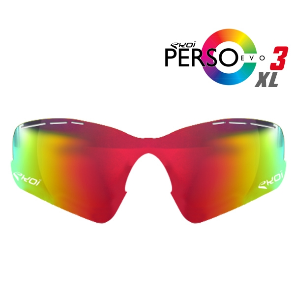 VERRE PERSOEVO3 XL REVO RED