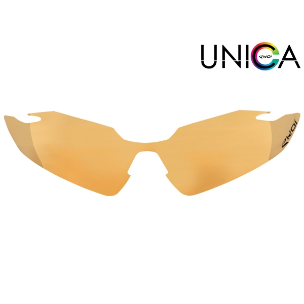 Verre UNICA CAT-1 orange