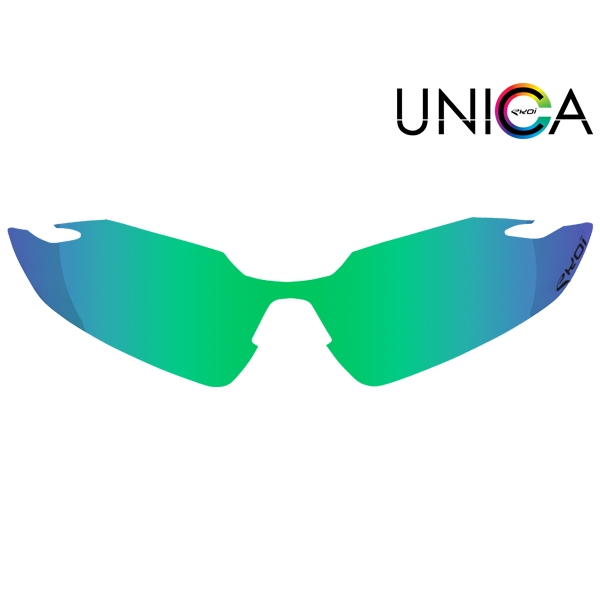 linser Unica kat-3 grøn