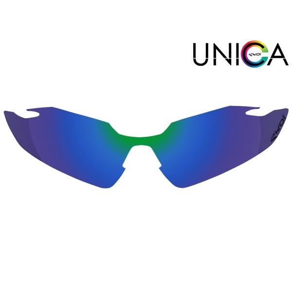 Szkło UNICA KAT. - 3 niebieskie