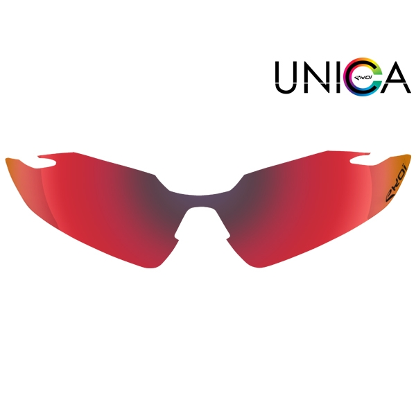 Verre UNICA CAT-3 rouge
