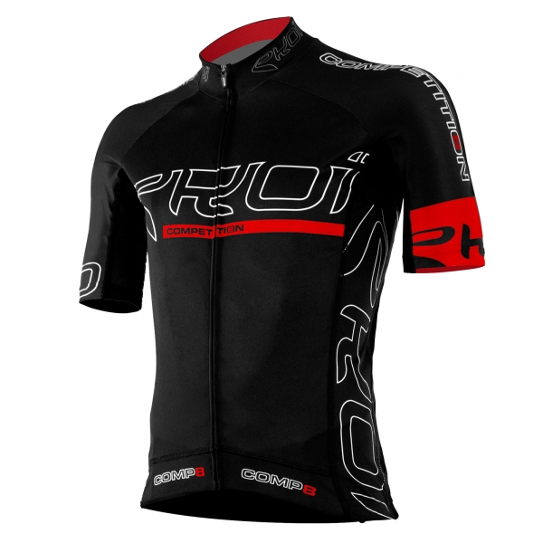 EKOI COMP8 WIELERSHIRT 2016 FULL BLACK