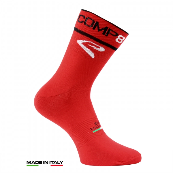 CYCLING SUMMER SOCKS EKOI COMP8 2016 RED