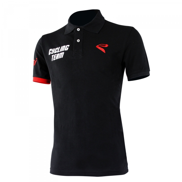 EKOI Black 2016 CYCLING TEAM POLO