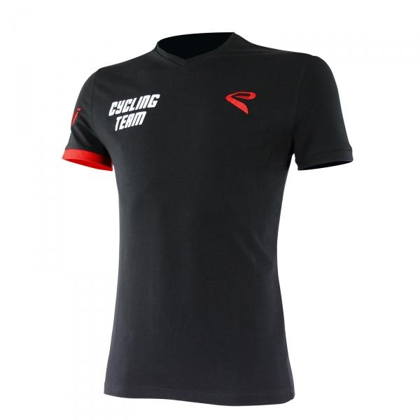 Koszulka T-shirt EKOI Cycling Team 2016 Czarna