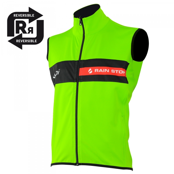 EKOI REVERSIBLE CYCLING SL VEST 2016