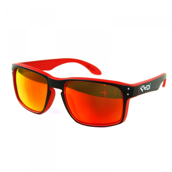 EKOI Lifestyle bril wit rood