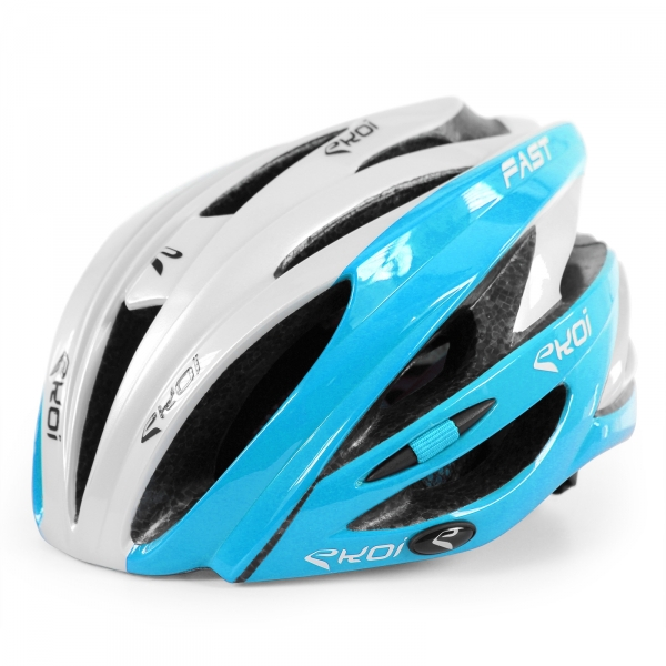 Helmet Fast 3 EKOI White/blue