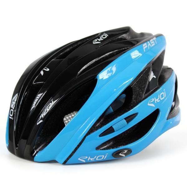 Casque Fast 3 EKOI noir bleu