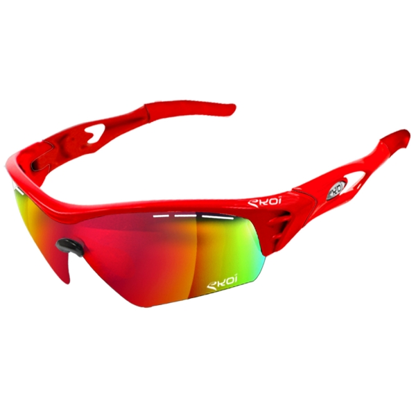 EKOI Limited Edition red PersoEvo1 sunglasses Revo Red lens
