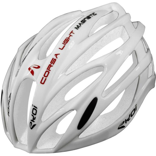 EKOI CORSA LIGHT Helm Full White