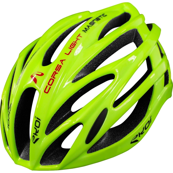 EKOI CORSA LIGHT FLUO YELLOW HELMET