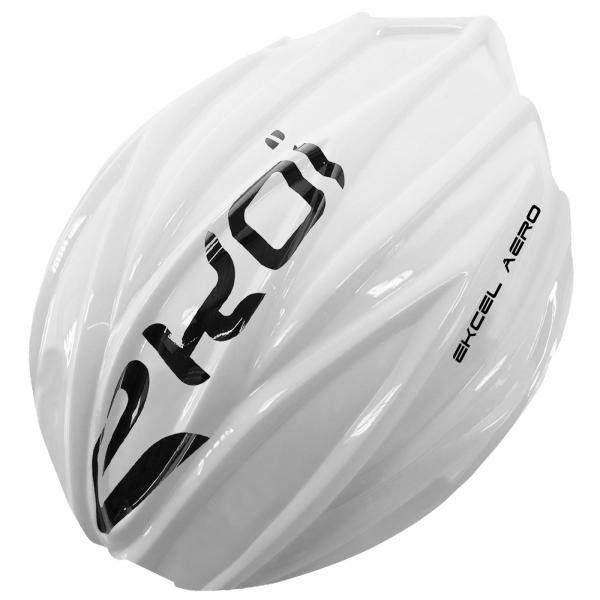 Valkoinen EKCEL EVO2 -kypärän irrotettava kuori