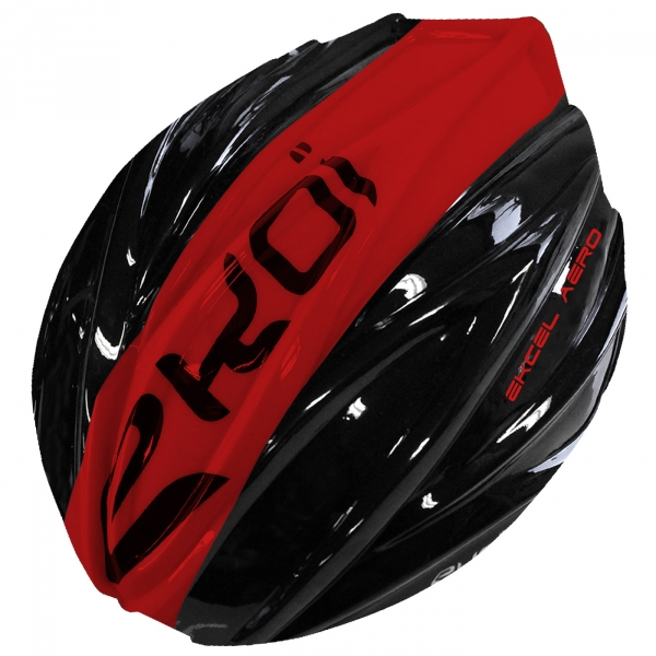 REMOVABLE SHELL EKCEL EVO2 BLACK/RED