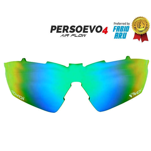 Verre PersoEvo4 Revo vert Cat-3