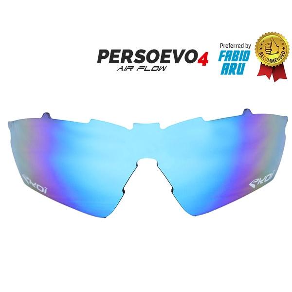 Verre PersoEvo4 Revo bleu Cat-3