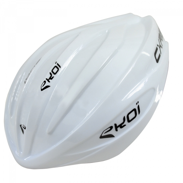 CXR19 helmet White removable Aero Shell