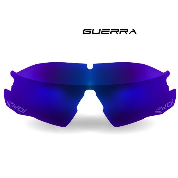 Verre GUERRA Revo bleu Cat-3