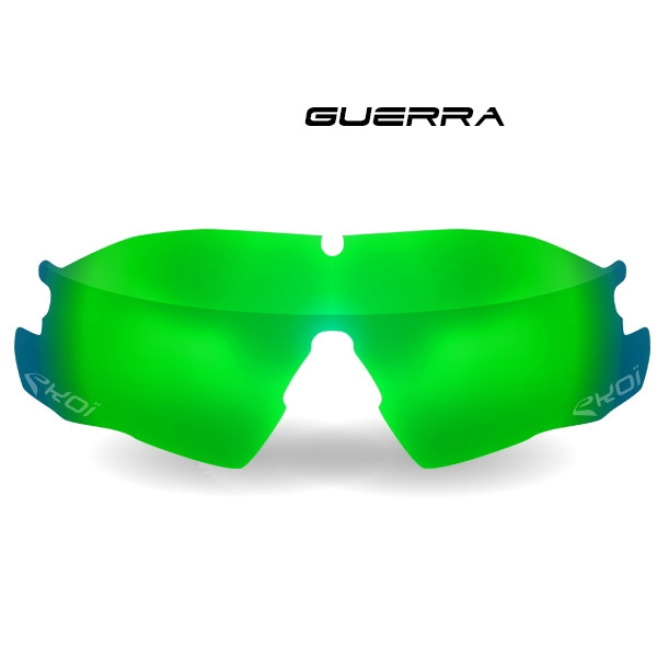 Lente GUERRA Revo Verde Cat-3