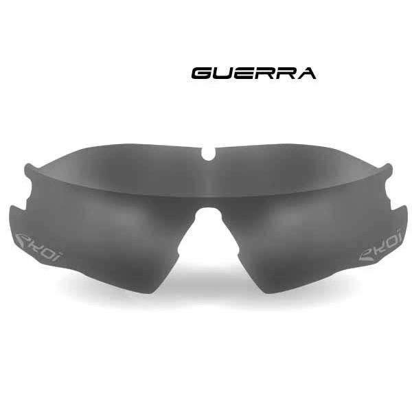 Fotokromatisk glas GUERRA i grå Kat 1-2