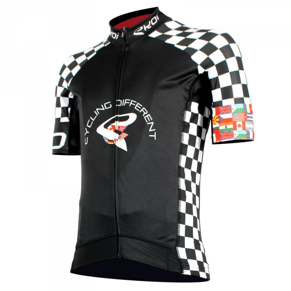 Maillot EKOI World Cycling 2016 noir