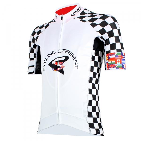 Maillot EKOI COMP8 LTD World Cycling blanc