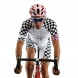 Cuissard EKOI World Cycling 2016 Gel blanc