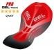 Pantaloncino EKOI World Cycling 2016 Gel BIANCO