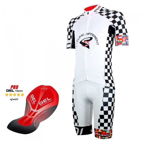 Pack EKOI World Cycling 2016 blanc