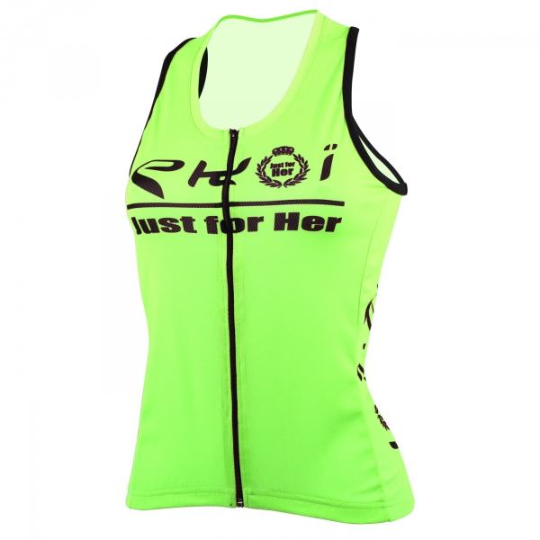 Tank Top EKOI lady JUST FOR HER 2016 Neon Yellow